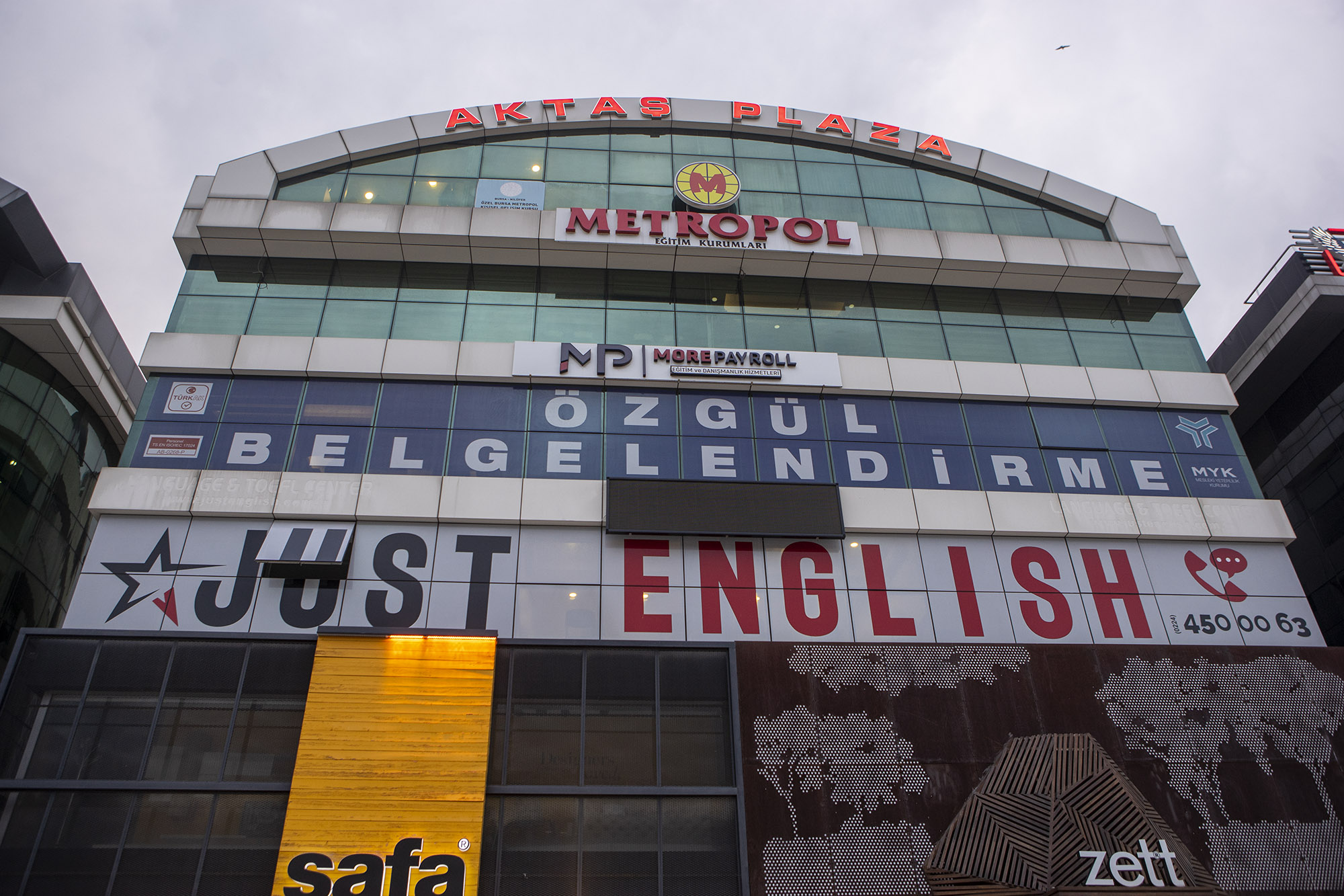 Just English Dil Okulları Bursa/Nilüfer Şubesi