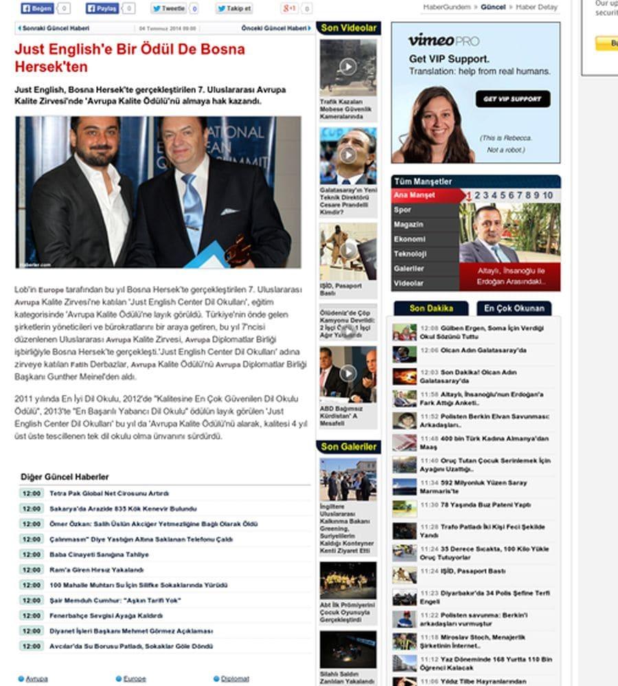 Medya ve Basında Biz