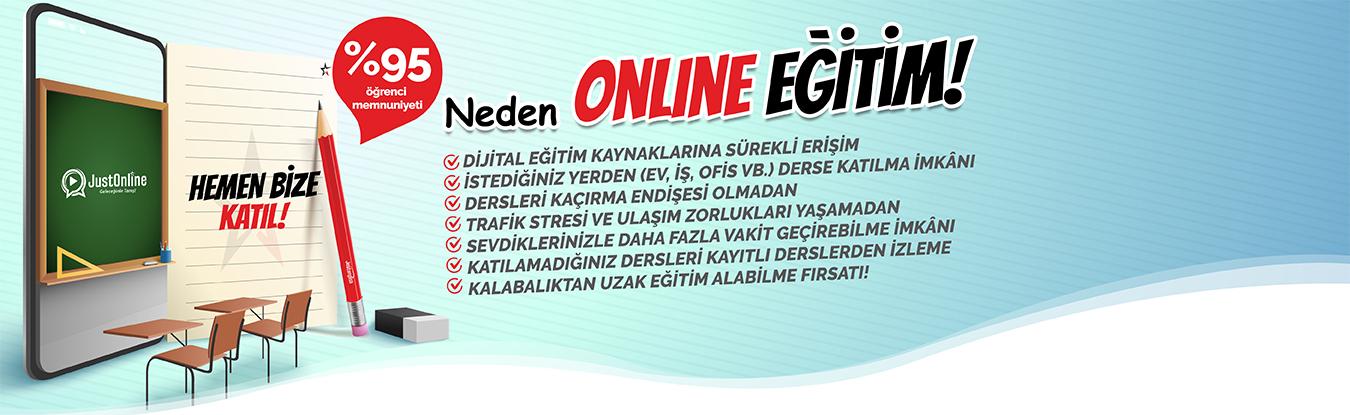 Online Eğitim Derslerimiz Başlıyor!