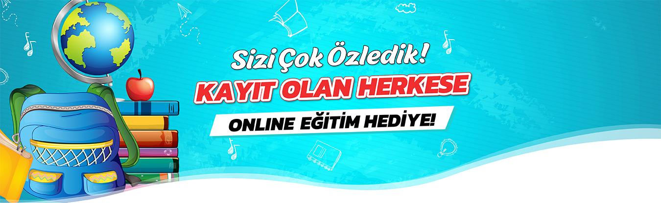 Kayıt Olan Herkese Online Eğitim Bedava!