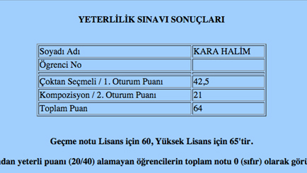 Proficiency Referans Öğrenciler